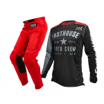 Fasthouse Crosskleding 2020 Phantom - Solid Rood