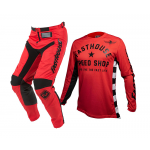 Fasthouse Kinder Crosskleding 2020 Originals Air Cooled - Rood