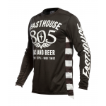 Fasthouse Cross Shirt 2021 Grindhouse 805 Gas & Beer - Zwart