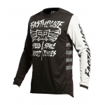 Fasthouse Cross Shirt 2021 Grindhouse Tribe - Zwart