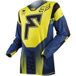Fox Cross Shirt 360 Franchise - Geel M