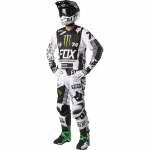 Fox - 2017 180 Monster / Procircuit SE Crosskleding Set - Wit / Zwart / Groen