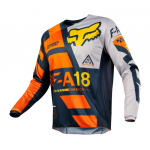 Fox Cross Shirt 2018 180 Sayak - Jeugd - Oranje