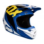 Fox Crosshelm 2018 V1 Race - Blauw