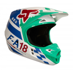 Fox Crosshelm 2018 V1 Sayak - Groen