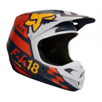 Fox Crosshelm 2018 V1 Sayak - Oranje