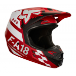 Fox Crosshelm 2018 V1 Sayak - Rood