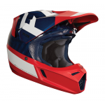 Fox Crosshelm 2018 V3 Preest - Navy / Rood