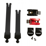 Fox Comp R Strap Kit - Rood / Zwart / Wit