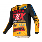 Fox Cross Shirt 2019 180 CZAR - Zwart / Geel