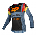 Fox Cross Shirt 2019 360 Murc - Blauw Steel