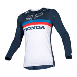 Fox Cross Shirt 2019 Flexair Honda - Navy