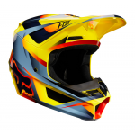 Fox Crosshelm 2019 V1 Motif - Geel