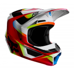 Fox Crosshelm 2019 V1 Motif - Rood / Wit L