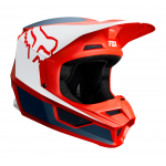 Fox Crosshelm 2019 V1 PRZM - Navy / Rood
