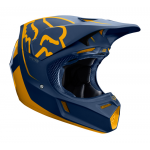 Fox Crosshelm 2019 V3 Kila - Navy / Geel