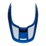 Fox Helmklep 2019 V1 Mata - Blauw / Wit