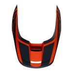 Fox Helmklep 2019 V1 PRZM - Oranje