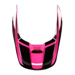 Fox Helmklep 2019 V1 PRZM - Zwart / Roze