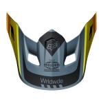 Fox Helmklep 2019 V2 Murc - Blauw Steel