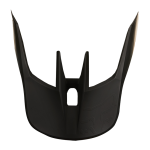 Fox Helmklep 2019 V3 Matte Carbon - Mat Zwart