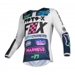Fox Mini Cross Shirt 2019 180 CZAR - Licht Grijs