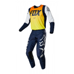 Fox Kinder Crosskleding 2019 180 LE Idol Anaheim A1 - Navy / Geel
