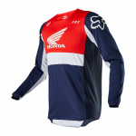 Fox Cross Shirt 2020 180 Honda - Navy / Rood