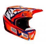 Fox Crosshelm 2020 V3 Idol - Oranje / Blauw