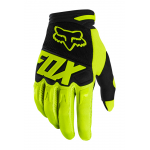 Fox Kinder Crosshandschoenen 2020 Dirtpaw Race - Fluo Geel