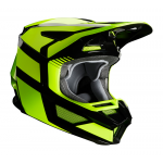 Fox Kinder Crosshelm 2020 V2 Hayl - Fluo Geel