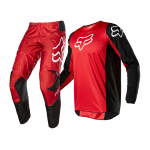 Fox Kinder Crosskleding 2020 180 Prix - Flame Rood