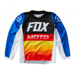 Fox Mini Cross Shirt 2020 180 Fyce - Blauw / Rood