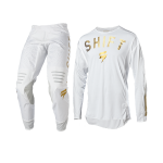 Shift Crosskleding 2020 3LACK Label LE Vega - Wit / Goud