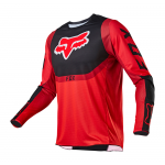 Fox Cross Shirt 2021 360 Voke - Fluo Rood