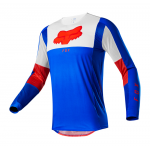Fox Cross Shirt 2021 Airline Pilr - Blauw / Rood