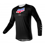 Fox Cross Shirt 2021 Airline Pilr - Zwart