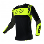 Fox Cross Shirt 2021 Flexair Mach One - Zwart / Geel