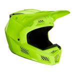 Fox Crosshelm 2021 V3 RS Psycosis - Fluo Geel