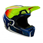 Fox Crosshelm 2021 V3 RS Wired - Fluo Geel