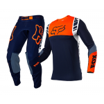 Fox Crosskleding 2021 Flexair Mach One - Navy