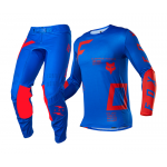 Fox Crosskleding 2021 Flexair Rigz - Blauw