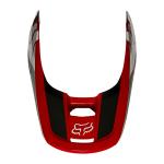Fox Helmklep 2021 V1 Revn - Flame Rood