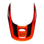 Fox Helmklep 2021 V1 Revn - Fluo Oranje