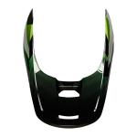 Fox Helmklep 2021 V1 Tayzer - Zwart
