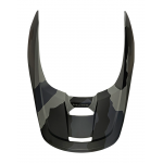 Fox Helmklep 2022 V1 Trev - Zwart Camo
