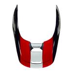 Fox Helmklep 2021 V1 Ultra - Wit / Rood / Blauw