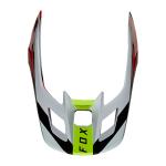 Fox Helmklep 2021 V2 Voke - Fluo Rood