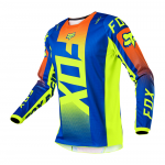 Fox Kinder Cross Shirt 2021 180 Oktiv - Blauw
