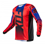 Fox Kinder Cross Shirt 2021 180 Oktiv - Fluo Rood